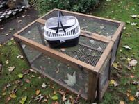 GUINEA PIG / RABBIT EXERCISE RUN AND SMALL PET CARRIER (GUINEA PIG/ RAT ETC)