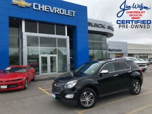 2017 Chevrolet Equinox Premier FWD 4CYL LEATHER REMOTE START ONE