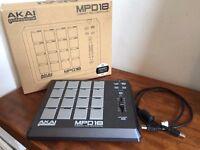 AKAI MPD 18 with box & USB