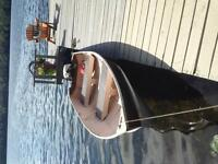 12 ft boat and motor for sale