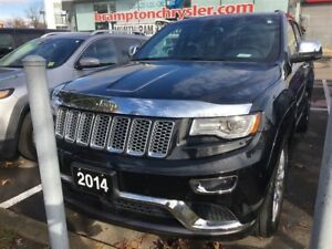 2014 Jeep Grand Cherokee SUMMIT | 4X4 | TRADE-IN | 8.4 IN TOUCHS