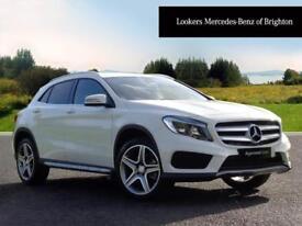 Mercedes-Benz GLA Class GLA 220 D 4MATIC AMG LINE (white) 2017-09-30