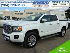 2017 GMC Canyon Crew Cab SLT 4WD *Lane Departure* *Wifi* *Heat L