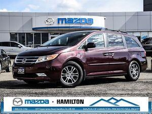 2013 Honda Odyssey EX-L- LEATHER, BLUETOOTH, A/C