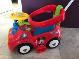 Ride on Mickey Mouse toy