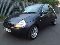 2007 FORD KA 1.3 PETROL IN GREY LOW MILEGE WITH NEW MOT
