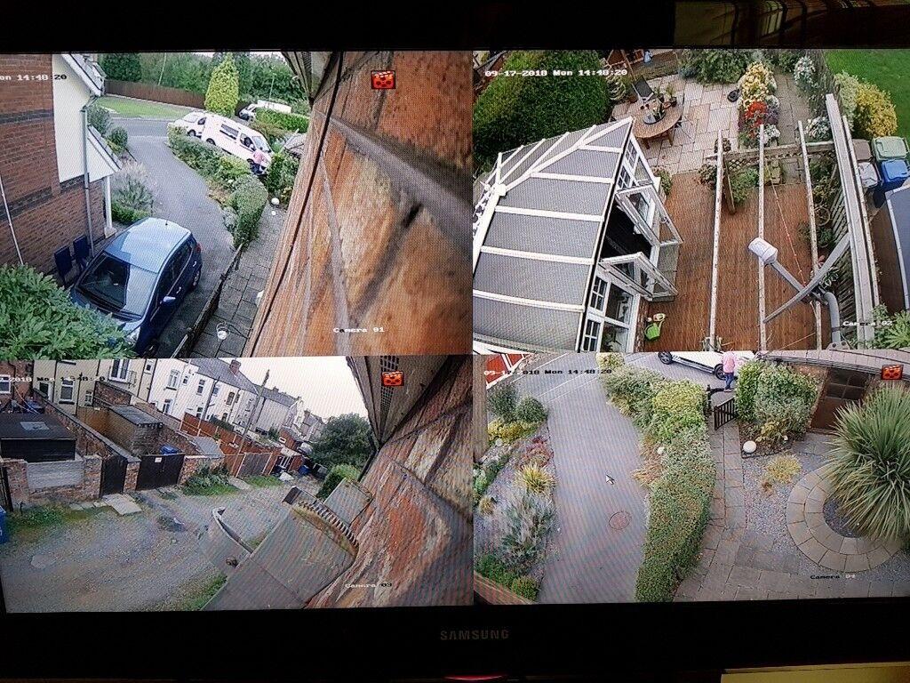 CCTV HOME SECURITY SURVEILLANCE CAMERA SYSTEM INSTALLATION