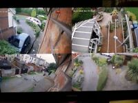 CCTV HOME SECURITY SURVEILLANCE CAMERA SYSTEM INSTALLATION SERVICES WITH REMOTE VIEWING VIA MOBILE