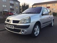 RENAULT CLIO 1.2 16V DYNAMIQUE-2005-JUST SERVICED+1 YEARS MOT-2 PREV KEEPERS
