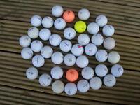 44 Maxfli & Noodle Golf Balls