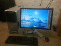 for sale dell computer set up in good working £30
