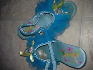 princess heeled slippers size7/8