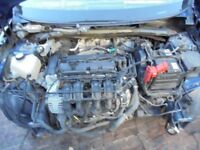 FORD FIESTA 2009 1.25 Engine complete 47k