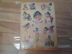 COLLECTABLE USSR NU POGODI CARTOON STICKERS