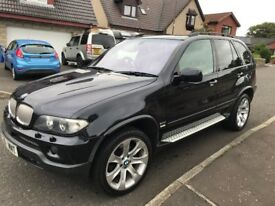 BMW X5 D SPORT,FULL SERVICE HISTORY, PRIVATE PLATE. X5 MNT, FULL LEATHER,