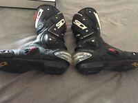 Men's Sidi Motorcycle boots UK 6.5
