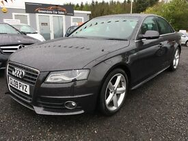 2009 Audi A4 S Line, £199 per month, 12 MONTHS Warranty, Finance available