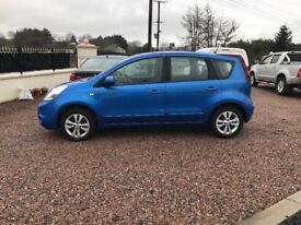 2010 Nissan Note automatic only 48k miles excellent condition