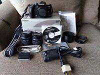 Olympus Evolt E-510 10MP Digital SLR camera with 2 Lenses for sale