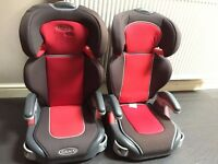 2 X Graco Childrens Car Seat