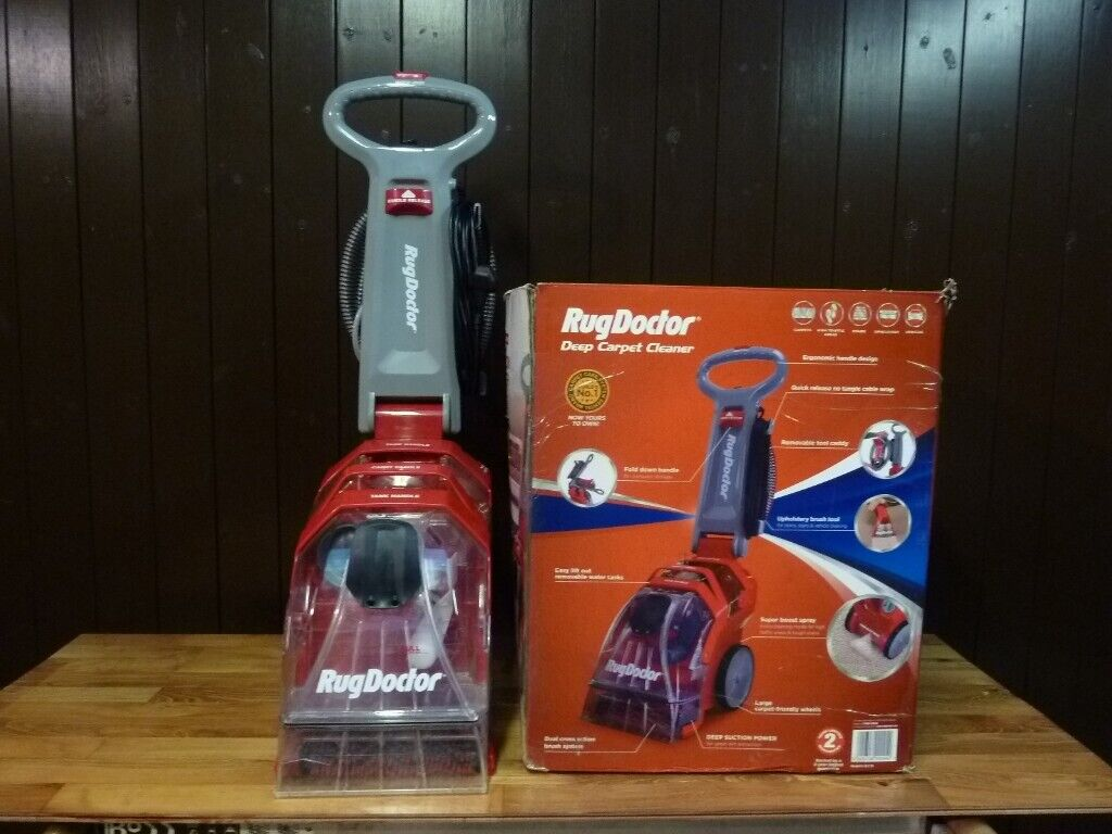 Rug Doctor Deep Carpet Cleaner - 240v