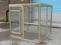 Cat or dog run pen or Aviary panels, chickens 6ft x 6ft x 6ft