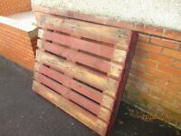 Wooden Pallet (1) - Free
