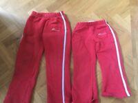 Rainbow uniform 2 x Trousers and a hoody