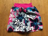 Large happy nappy swim board shorts