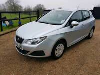 Seat Ibiza ecomotive tdi free road tax fsh excellent mpg cheap car Kent
