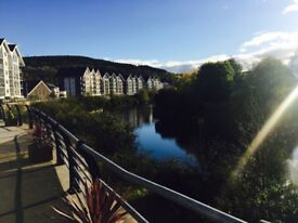 Riverside One Bedroom Furnished Apartment to Rent!! Amazing location and views of the River Tawe