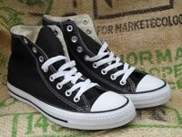 Converse high top black size 7 1/2