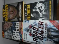 GUY MARTIN AND MICHAEL DUNLOP BOOKS