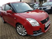 STUNNING SUZUKI SWIFT 1.6 VVT SPORT HATCHBACK 3 DOOR MANUAL,