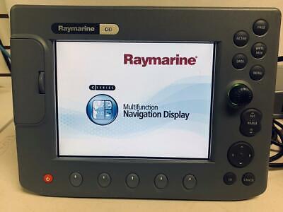 Raymarine C80 GPS Fishfinder Radar  8.4
