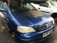 VAUXHALL ASTRA SXI 16V 2001- FOR PARTS ONLY