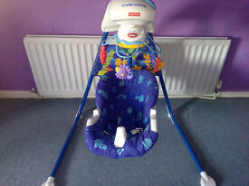 Baby Swing/ Bouncer Fisher Price