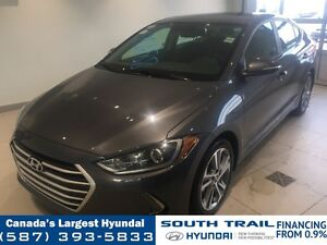 2017 Hyundai Elantra GLS - SUNROOF, ALLOYS, HEATED SEATS/WHEEL
