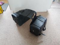Triumph Imitation Leather panniers