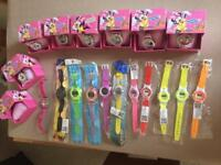 Kids Minnie Mouse & digital watches