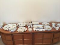 Royal Worcester Evesham Fine Porcelain Crockery