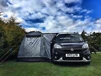Sunncamp Lodge 200 free standing drive away awning