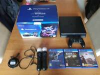 BARGAIN! PSVR, 3 Games, VR Motion Controllers BOXED NO PS4 XBOX ONE S X