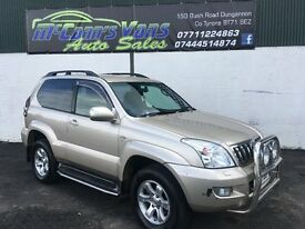 TOYOTA LANDCRUISER LC3 D4D 2 OWNER VERY CLEAN JEEP *NO VAT*