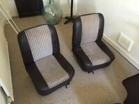 Classic mini parts - seats, door cards, carpet, speaker pods, steering wheel