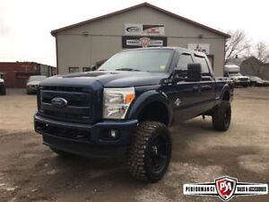 2014 Ford F-250 LIFTED POWERSTROKE DIESEL 4X4!!