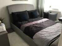 Double Bed frame in a Fantastic Condition - Only used for about a year! £80 ono - No mattress