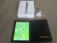 APPLE IPAD 4TH GEN 64GB WIFI AND CELLULAR WITH CASE £320 or near offer