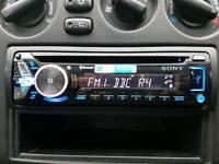 Sony car stereo,CD,mp3,blutooth
