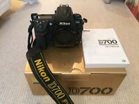 Nikon D700, full frame camera, great condition
